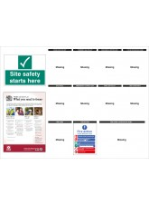 Construction Site Notice Board - 1430 x 1075mm