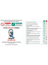 Pocket GuiDe Site Safety Induction (Pack of 10) 75 x 90mm