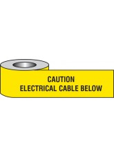 Caution Electrical Cable Below Underground Tape