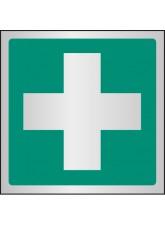First Aid Symbol - Aluminium