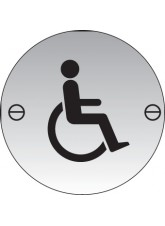Disabled Symbol Stainless Steel