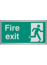 Fire Exit - Aluminium