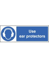Use Ear Protectors - Quick Fix Sign