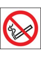 100 x No Smoking Labels - 50 x 50mm