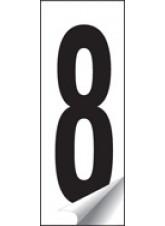 Identification Number Sets 0-9 - 38 x 90mm
