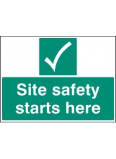 Site Safety Starts Here