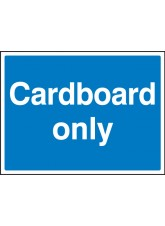 Cardboard Only