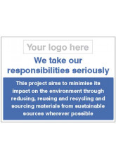 We take our responsibilities seriously - waste management