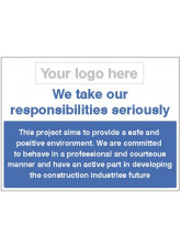 We take our responsibilities seriously - safe and positive environment