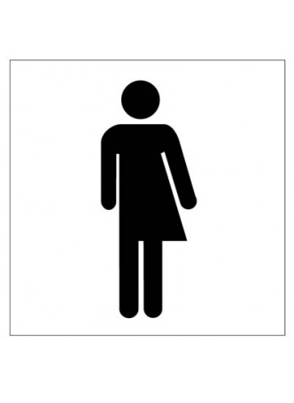 All gender toilet symbol