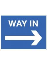 Way in --->